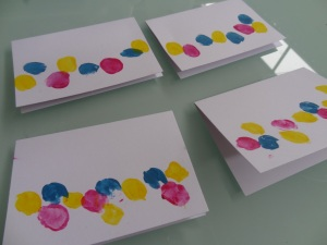 Fingerprint Easter Egg Gift Cards