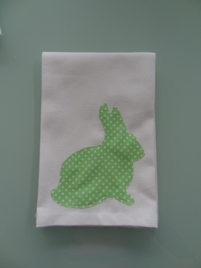 Easter Craft: Rabbit Napkins